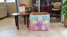 Terrific Diaper Drive Box created by Diaper Bank of Central Florida.