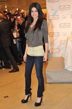 Selena Gomez Dream Out Loud Clothing Launch