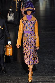 fall 2012 ready-to-wear Louis Vuitton Runway Roberta Narciso (ELITE)
