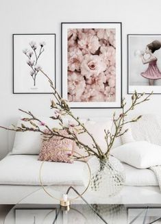 Beautiful nature poster with a sea of pink flowers. This poster is perfect to combine in a photo wall and/or with other botanical motives. The dimensions of the poster include a built-in picture mount. Window Poster, Poster Wall, Poster Prints, Art Prints, Nature Posters, Love Posters, Inspiration Wall, Interior Design Inspiration, Hogwarts