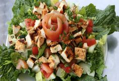 Chicken Grilled Salad | Trim Down Club