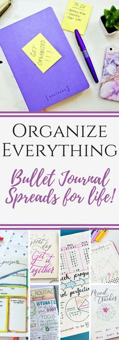 Bullet journal ideas!