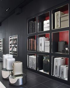 """Luxury luggage brand Rimowa has unveiled its first global concept store on London's New Bond Street and a new product innovation, the """"Electronic Tag"""", whi"""