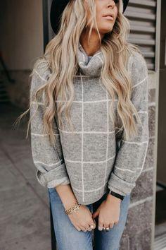Grey Sweater, Cowl, Sweaters, Shopping, Gray Sweater, Sweater, Cowls, Sweatshirts