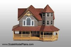 Model Railroad and Diorama Building Plans in HO Scale, O Scale, OO Scale, and N Scale