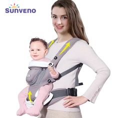 2a5e087d92f Cheap Price SUNVENO Ergonomic Baby Carrier Breathable Front Facing Infant  Baby Sling Backpack Pouch Wrap Baby Kangaroo For Baby Months