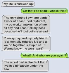 Epic text - My life is screwed up - http://jokideo.com/epic-text-my-life-is-screwed-up/