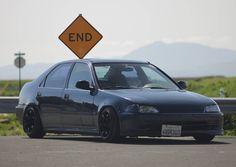 What do you guys think of my 95 eg8? #Honda #civic #hondacivic #hondalife #hondalove #car
