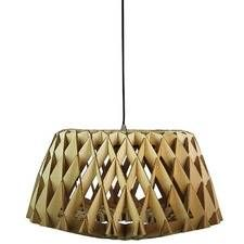 Nest 50cm Natural Timber Pendant