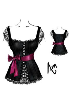 Three Musketeers Corset Top