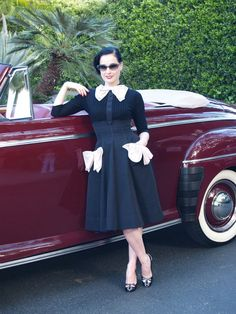 Oh, Dita. Now thats the way to do a grownup Wednesday Addams.