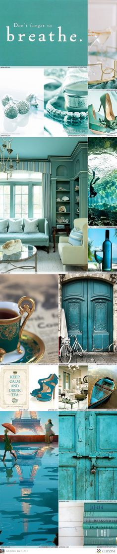 Teal + Turquoise