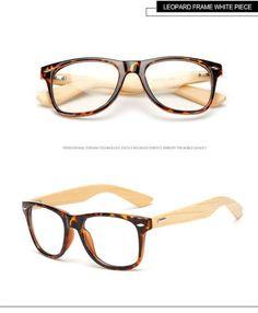 3c29c9ac16a Long Keeper 2017 Retro Bamboo Glasses Frame Men Women Eyeglasses