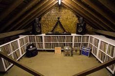 Vinyl loft