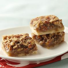 Heart Healthy Pecan Pie Bars