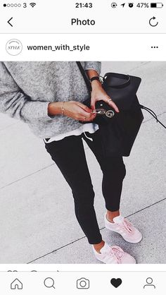 Love casual but chic fashion style