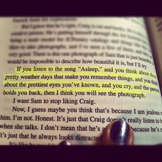 Perks of being a wallflower. Glad to see I'm not the only one who highlights the book! Lol