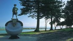 Image result for gisborne city Gisborne New Zealand, Kiwiana, Fountain, City, Outdoor Decor, Image, Water Fountains, Cities