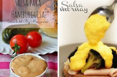 16 Deliciosas salsas que vas a querer echarle a absolutamente todo lo que comas Sauces, Mexican Food Recipes, Healthy Recipes, Barbacoa, I Love Food, Pesto, Tapas, Catering, Food And Drink