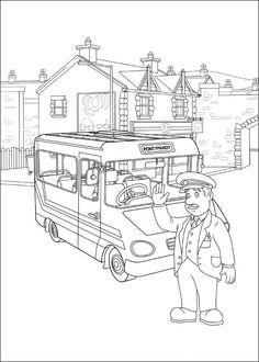 Tegninger til Farvelægning Brandmand Sam 41