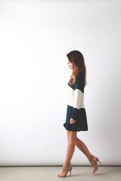 Heidi Merrick Colorblock Dress | perpetuallychic.com | Flickr - Photo Sharing!