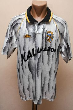 PORT VALE ENGLAND NO MATCH WORN 1991/1992 HOME FOOTBALL SHIRT #4