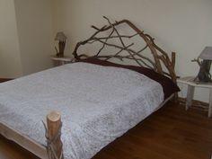 1000 id es sur le th me t te de lit en bois flott sur - Tour de lit 160 ...