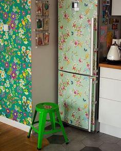 Nowa miłość: lodówka, tym razem nie przez zawartość / New love: fridge #pipstudio #ricedk