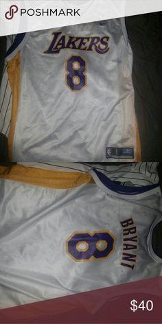 Vintage los Angeles Lakers Kobe Bryant Jersey #8 Kobe Bryant Jersey Vintage Shirts