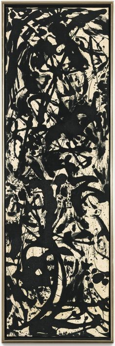 Jackson Pollock. It's easy to criticize the work of this artist but impossible to deny that there is something so powerful and beautiful about his work.