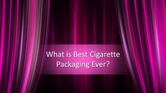 What is Best Cigarette Packaging Ever? Powerpoint Template Free, Cigarette Box, How To Make Box, Whats Good, Boxes For Sale, Abstract Backgrounds, Packaging Design, Cool Designs, Presentation
