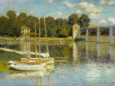 Titulo de la imágen Claude Monet - Puente de Argenteuil