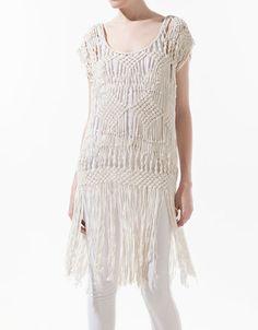 CORDS PONCHO - Shirts - Woman - ZARA $89.90 USD