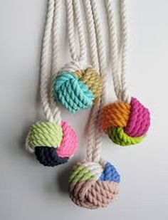 painted knots