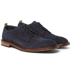 Shop men's derby shoes at MR PORTER, the men's style destination. Discover our selection of over 400 designers to find your perfect look. Mens Derby Shoes, Officine Creative, Oxford Shoes, Dress Shoes, Lace Up, Man Shop, Mens Fashion, Style, Formal Shoes