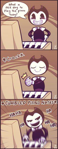 Quelle belle journée pour jouer du piano aujourd'hui !
