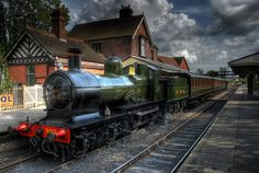 inch) Print (other products available) - Steam Engine at the Sheffield Park train station, on the Bluebell Railway: a heritage railway in the south of England in full operational use. - Image supplied by Fine Art Storehouse - Print made in Australia Train Art, By Train, Sheffield Park, Heritage Railway, Electric, Train Pictures, Art Pictures, Old Trains, Steam Engine