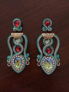Earrings soutache ready to ship
