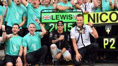 Lewis Hamilton takes his 39th career win at Spa
