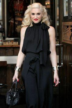 Gwen Stefani on the street in LA - celebrity fashion (Glamour.com UK)
