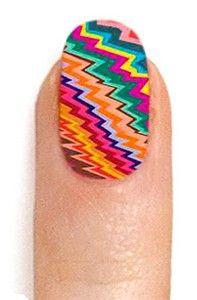 ncLA nail wraps....new fav