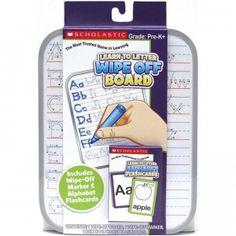 Scholastic Alphabet Dry Erase Activity Set from Tara Toy