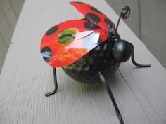Craft Klatch ®️️️️️️️️: RECYCLED LADYBUG CRAFT