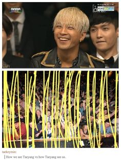 How we see Taeyang vs. How Taeyang sees us xD