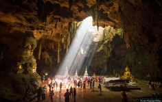 Fabulous Buddhist Caves gallery http://www.huffingtonpost.com/2014/02/15/buddhist-cave-temples_n_4775101.html