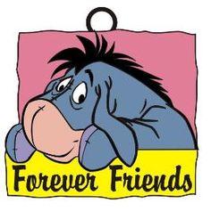 Eeyore Forever Friends Frame