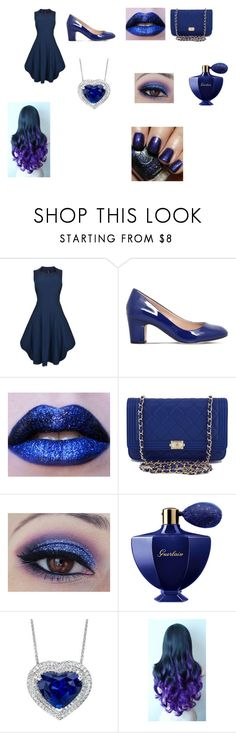 """""""British"""" by theavengers353 ❤ liked on Polyvore featuring HIGH, Carvela, Chanel, Guerlain and Alchemy Collection"""