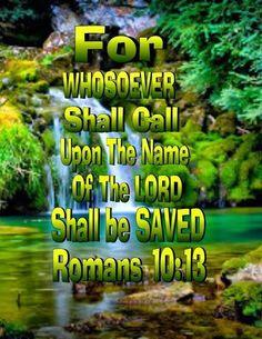 Romans 10:13 (KJV)