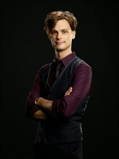 Matthew Gray Gubler as Dr. Spencer Reid in Criminal Minds come on you know he's a cutie