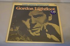 Vintage Record The Best of Gordon Lightfoot Album UA-LA381-E by FloridaFinders on Etsy